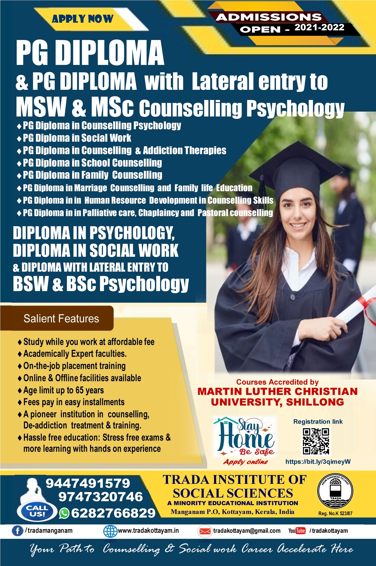 ADMISSION OPEN 2021-2022