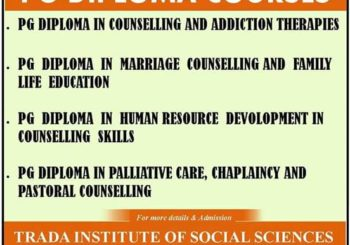 ANNOUNCE ONE YEAR PG DIPLOMA COURSES
