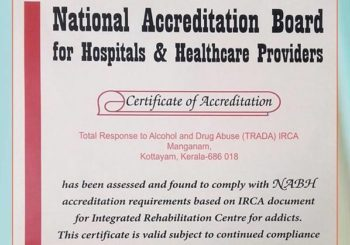 TRADA IRCA  IS  NABH ACCREDITTED