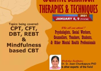 Two Day Workshop on *CBT Therapies & Techniques*