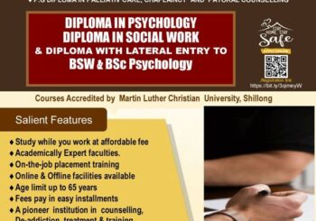 Admission open for PG Diploma courses 2021
